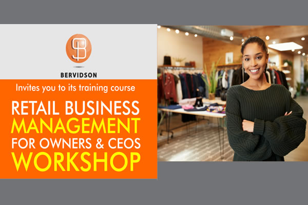 Retail Business Management Workshop for Owners CEOs & COOs
