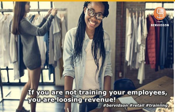 Bervidson Retail Training Calendar 2020