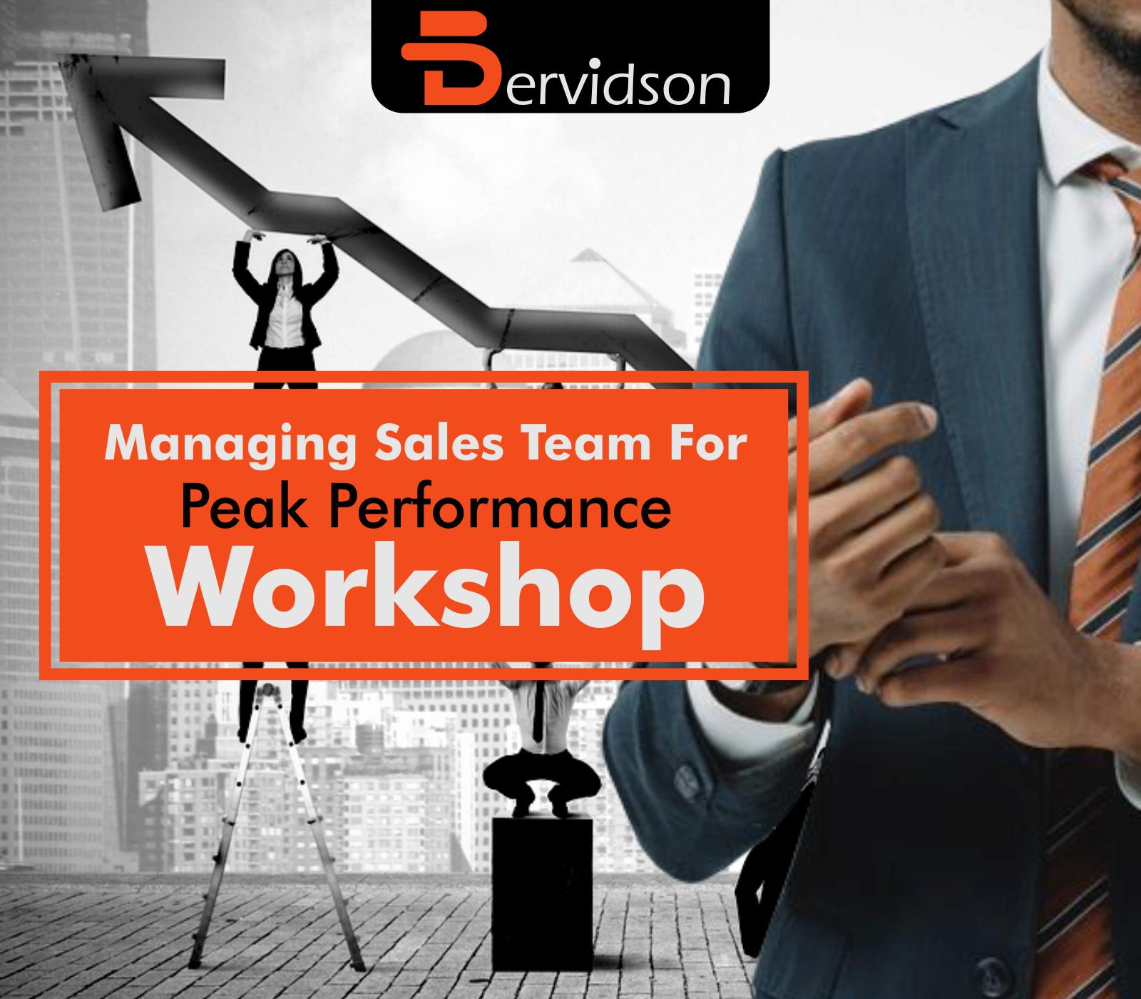 Managing Sales Team for Peak-Performance Workshop