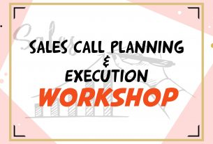 Sales Call Planning & Execution Workshop