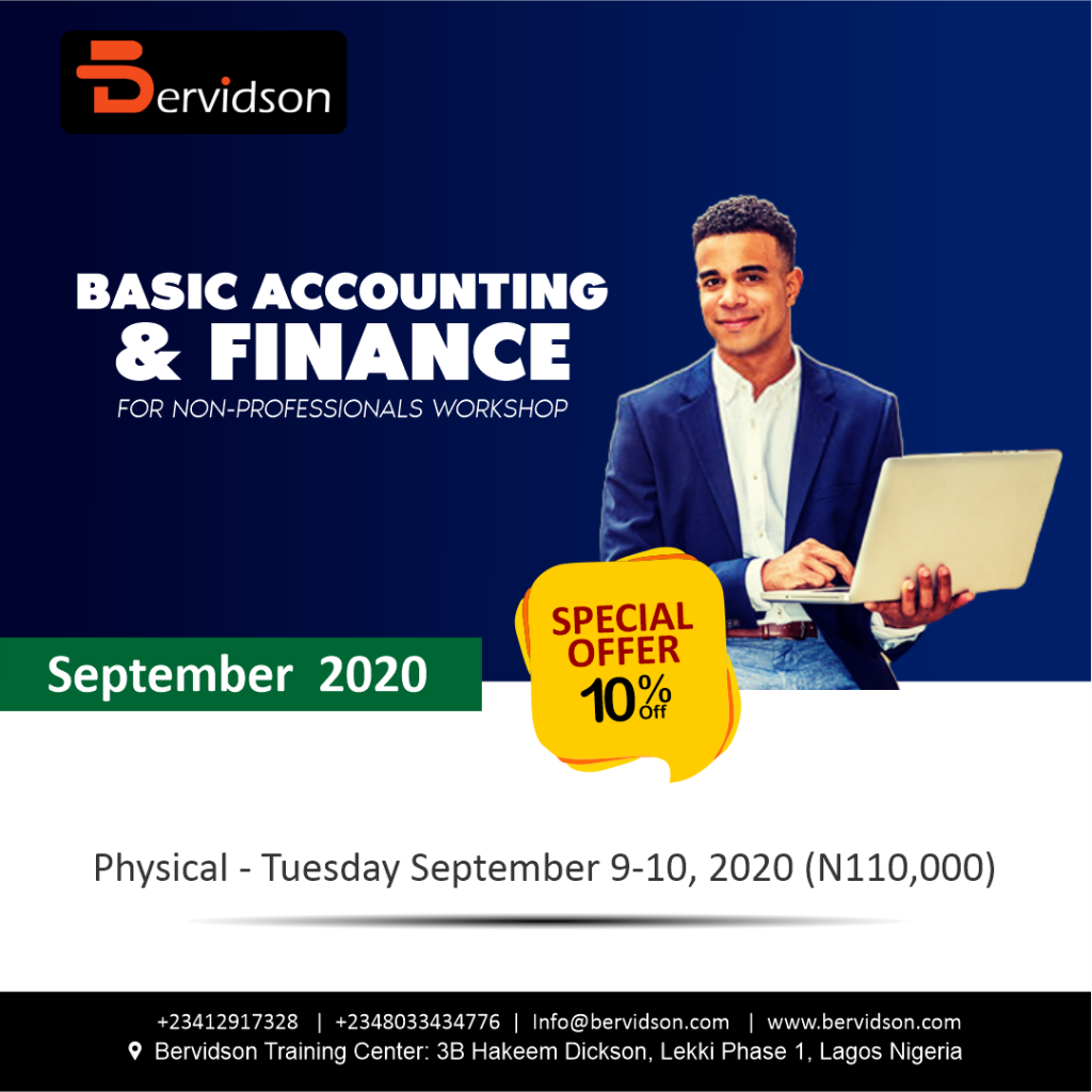 Basic Accounting & Finance For Non-Profesional Workshop