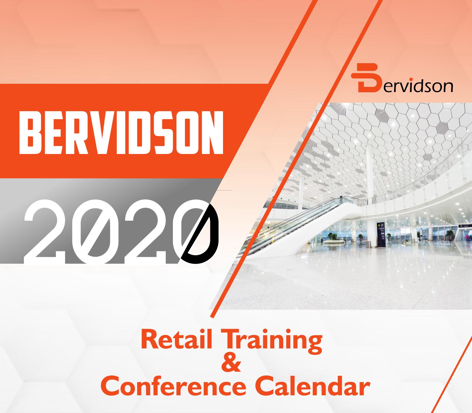 Retail Training & Conference Calendar 2020