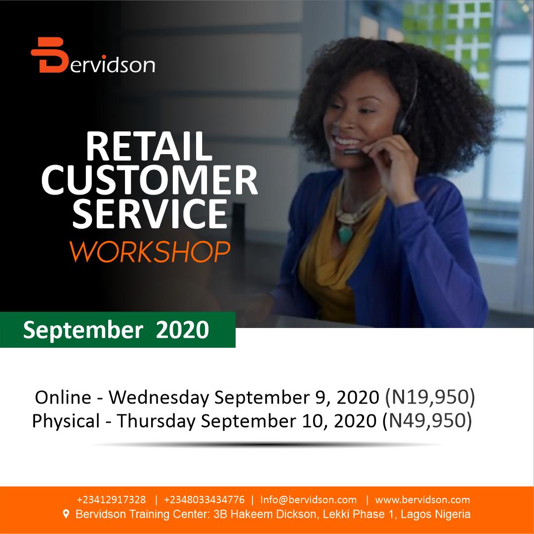 Retail Customer Service Workshop