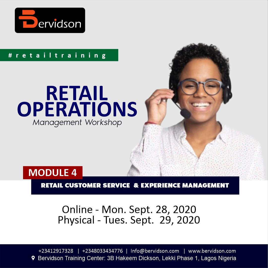 Retail Operations Management Workshop - Module 4