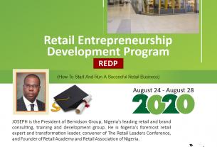 Retail Entrepreneurship Development Program – REDP