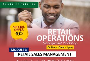 Retail Operation Management: Module 1 - Retail Sales Management