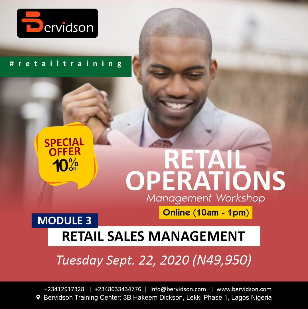Retail Operation Management: Module 1 - Retail Sales Management