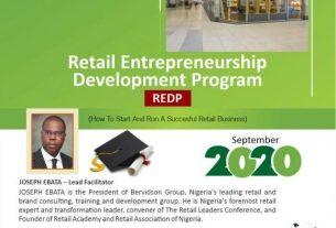 Retail Entrepreneurship Development Program - REDP