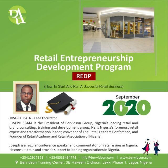 Retail Entrepreneurship Development Program - REDP