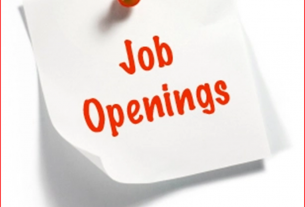 Job Opening - Retail Shop Manager
