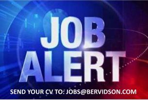 Job Alert - Luxury Store Manager.