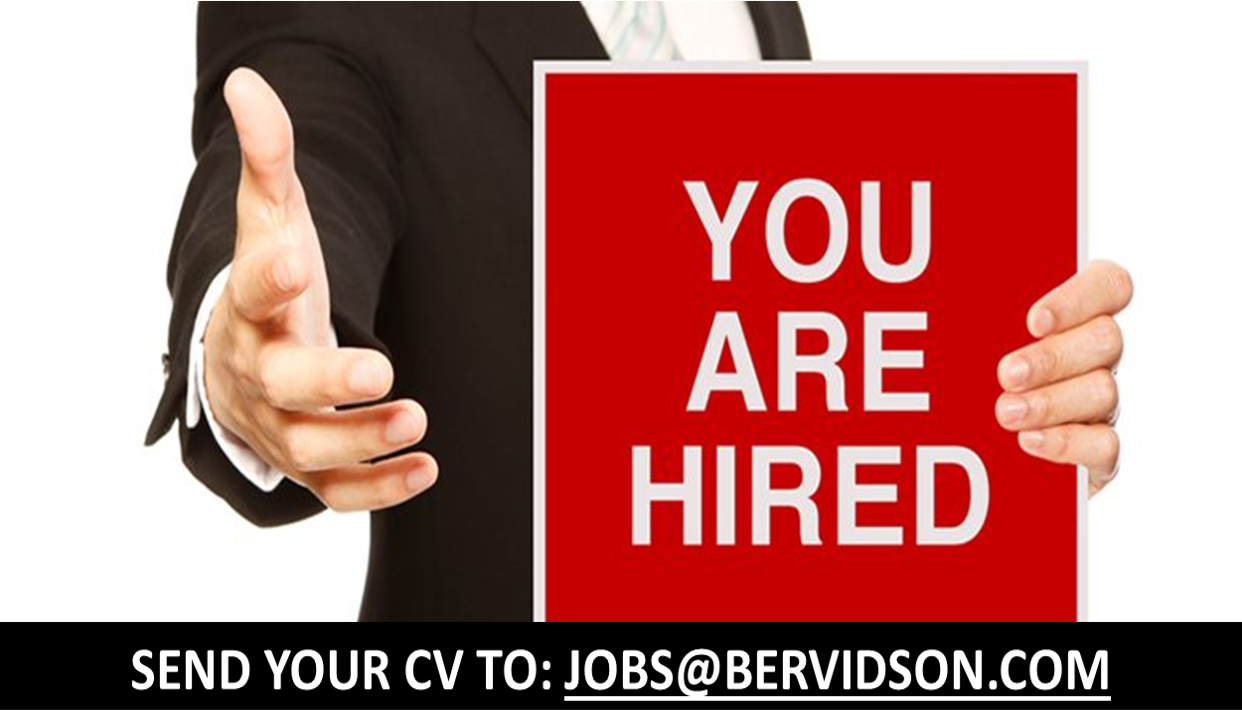 You Are Hired! - Retail Sales Executives/Officers.