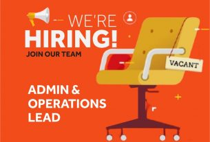 An excellent job opportunity - Admin & Operations Lead