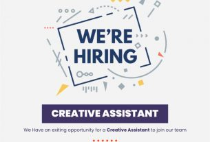 A great job opportunity - Creative Assistant