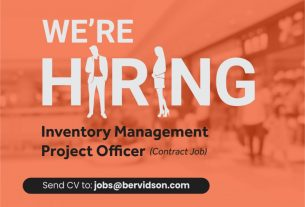 A good job opportunity - Inventory Management Project (Contract Job)