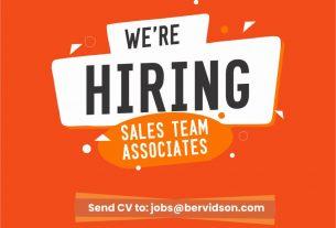 Fantastic Job Opportunity - Sales Associates