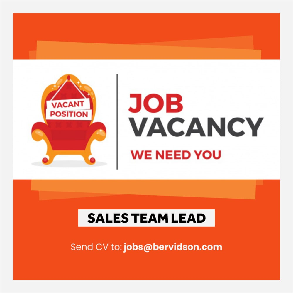 Outstanding Job Opportunity - Sales Team Lead