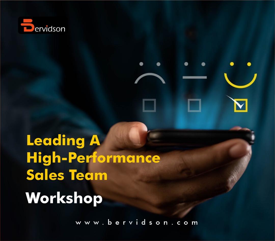 Leading A High-Performance Sales Team Workshop